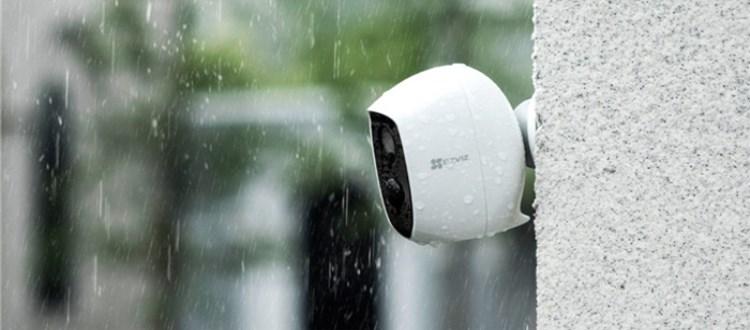 新品   萤石C3A全无线互联网电池摄像机任你随心安放