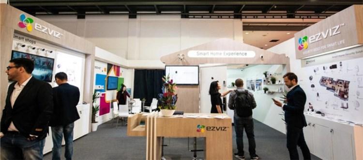 萤石携智能产品亮相IFA2018德国柏林国际消费电子展