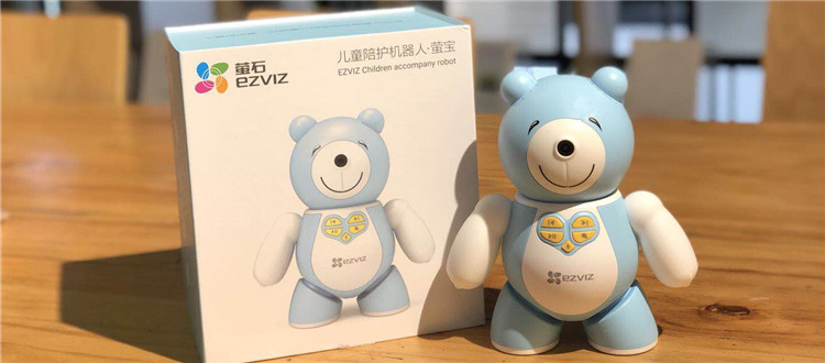 可以看见宝宝的儿童陪护机器人:关于萤宝的开箱晒物