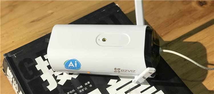 AI智能黑科技,萤石壁挂式互联网摄像机C5Si开箱晒物
