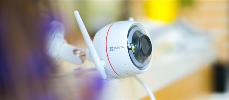 双重保障,护你周全:C3W网络监控摄像机开箱图赏