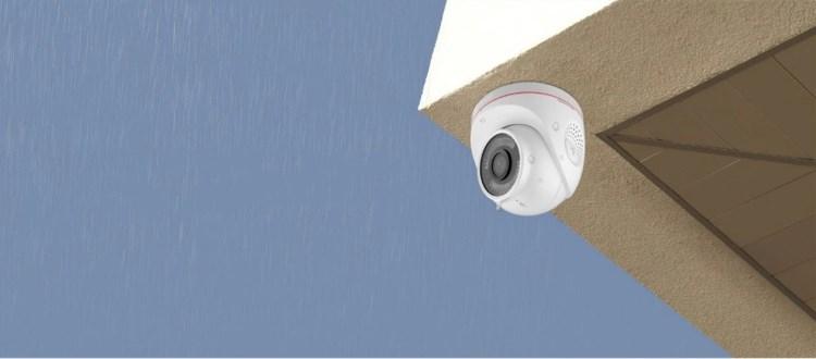 新品丨C4W高清互联网摄像机,一款支持语音定制的迎宾防盗神器